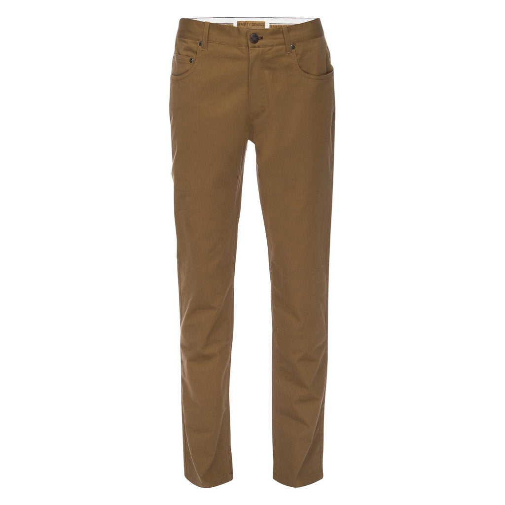 J.P. 5 Pocket Stretch Cotton Twill in Caramel
