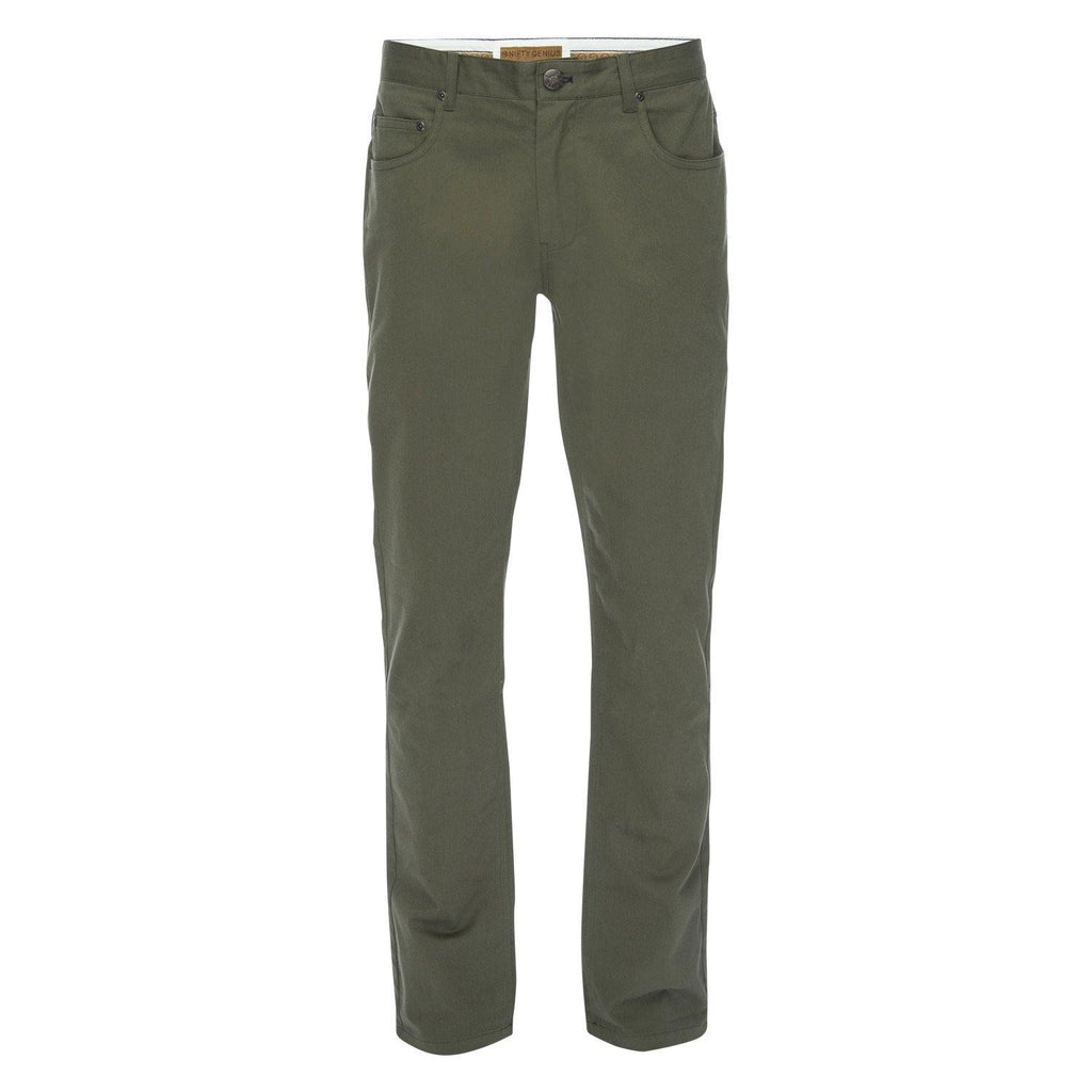 J.P. 5 Pocket Stretch Cotton Twill in Olive