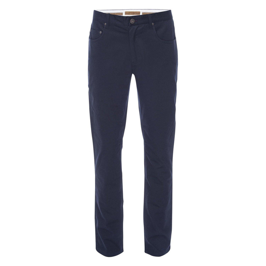 J.P. 5 Pocket Stretch Cotton Twill in Navy