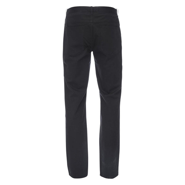J.P. 5 Pocket Stretch Cotton Twill in Black