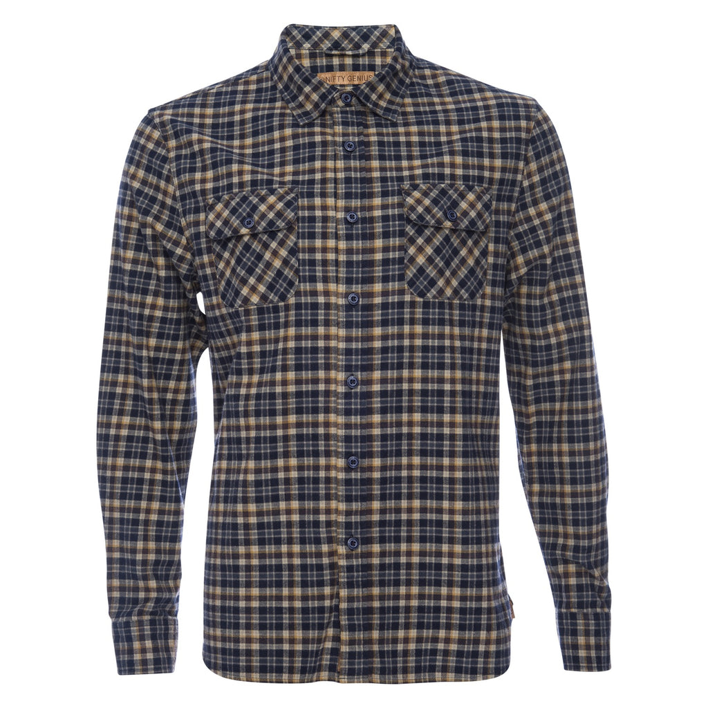 Truman Outdoor Shirt in Check Plaid