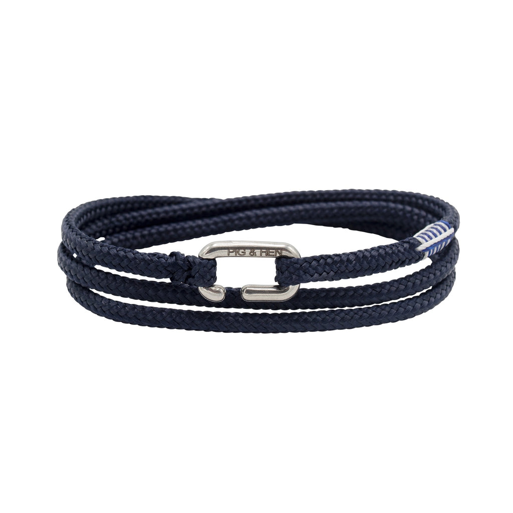 Savage Sam in Navy | Silver