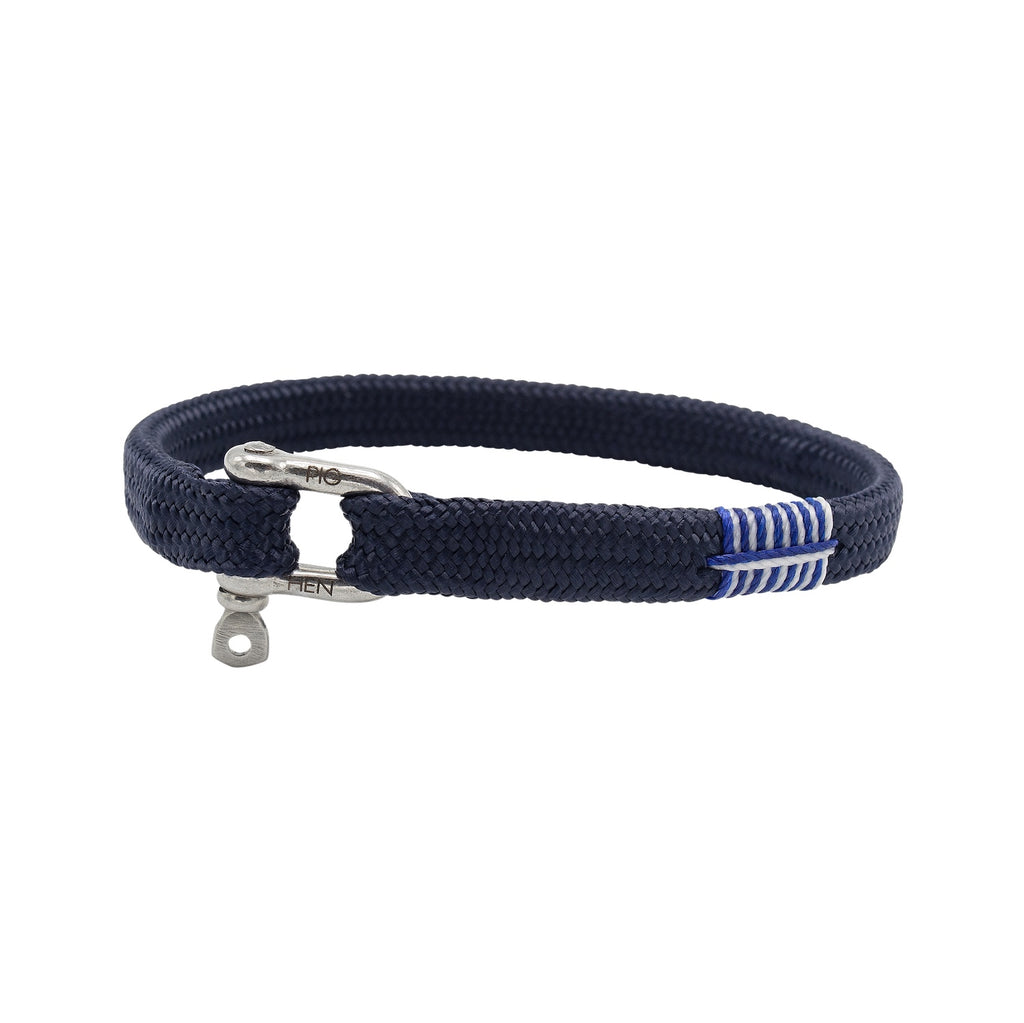 Vicious Vik in Navy | Silver