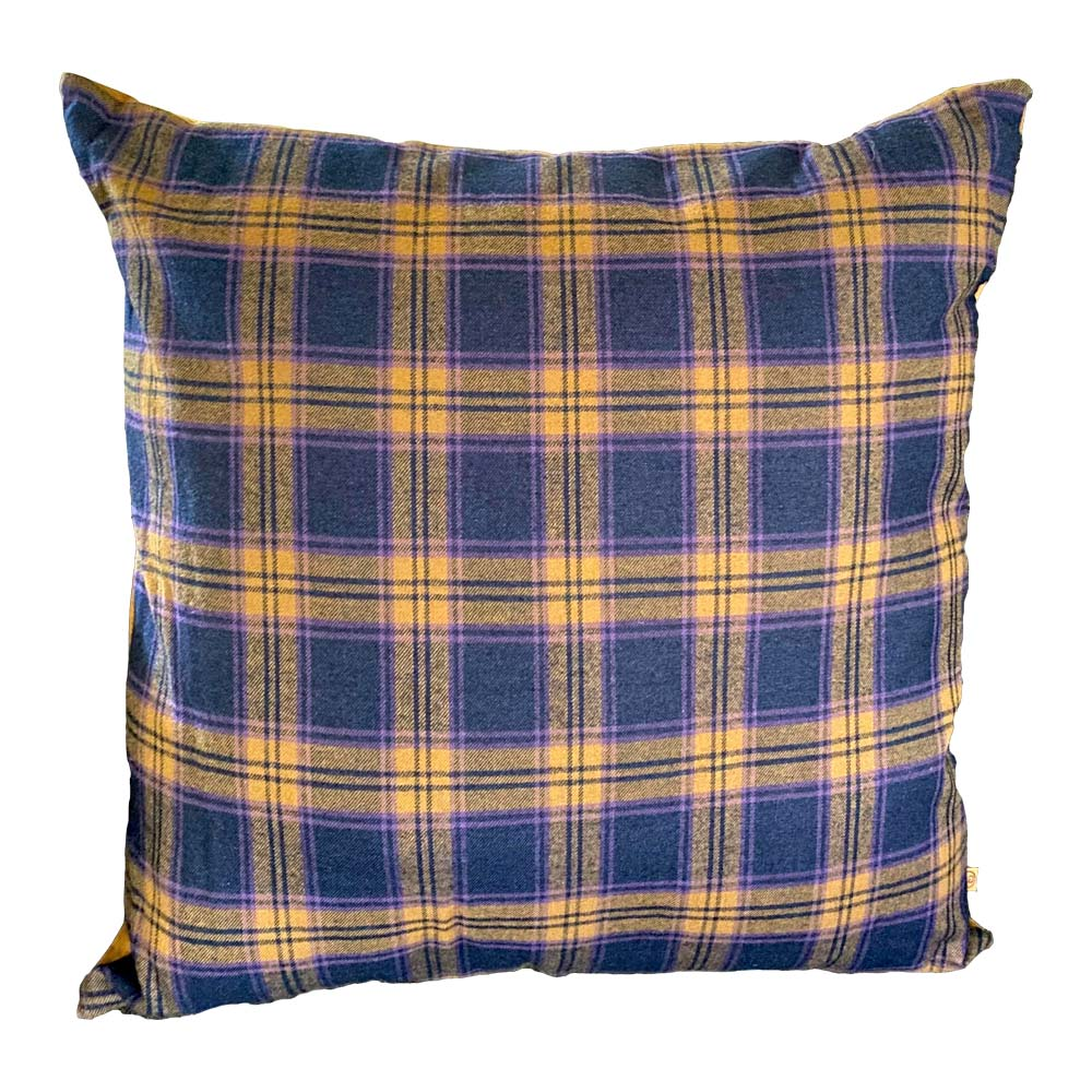 Pillow in Purple Plaid
