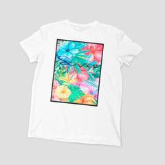 Tropical Flowers Tee - Scarce  - 1