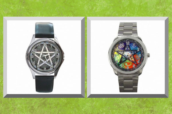 Artistic Pentacle Watch