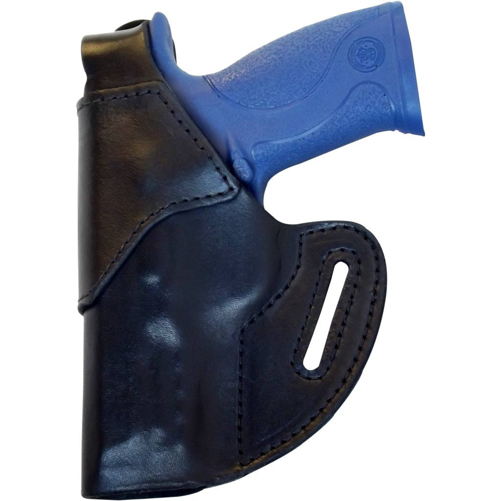 S&W M&P9/40 Premium Leather OWB Holster RH or LH in Black or Brown