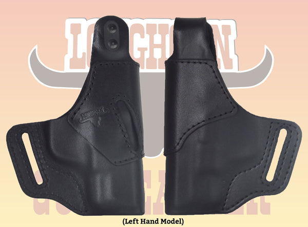 Kahr CW9 Premium Leather OWB Holster RH or LH in Black or Brown