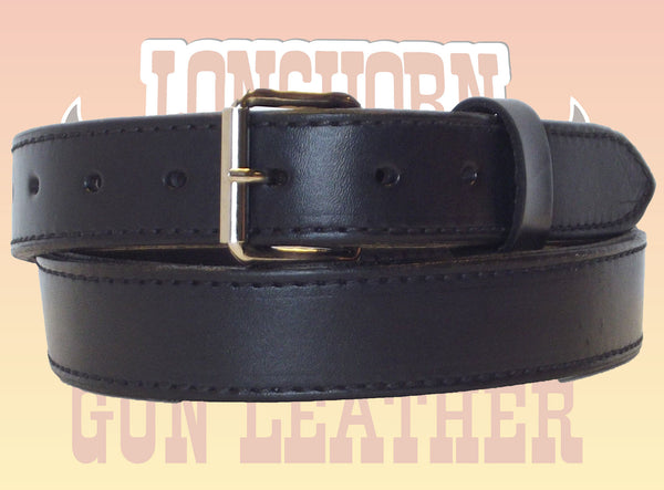 Womens Longhorn Premium Double Layer Leather Gun Belt