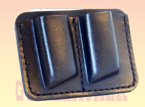 Premium Leather OWB Double Magazine Pouches