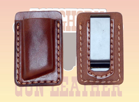 Premium Leather OWB Single Magazine Pouches