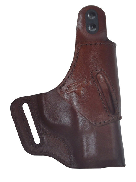 Sig P938 / Crimson Trace Premium Leather OWB Holster RH or LH in Black or Brown