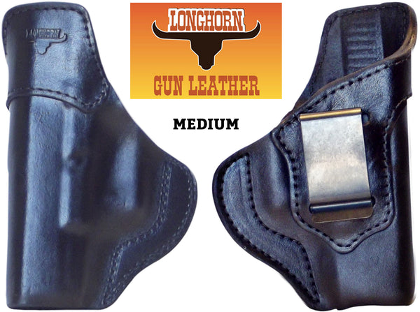 IWB Universal Fit Longhorn Premium US Leather Holster