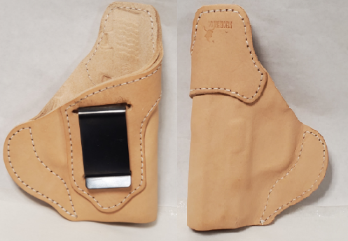 "IWB Bulldog 2"" Longhorn Premium US Leather Holster"