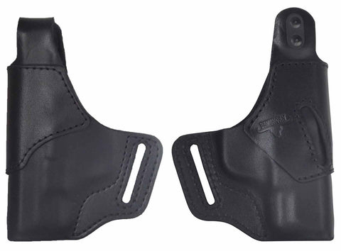 "1911Commander 4.25"" Premium Leather OWB Holster W/ Thumb-Break - Black or Brown"