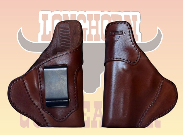 Premium US Leather Custom Fitted IWB Holster