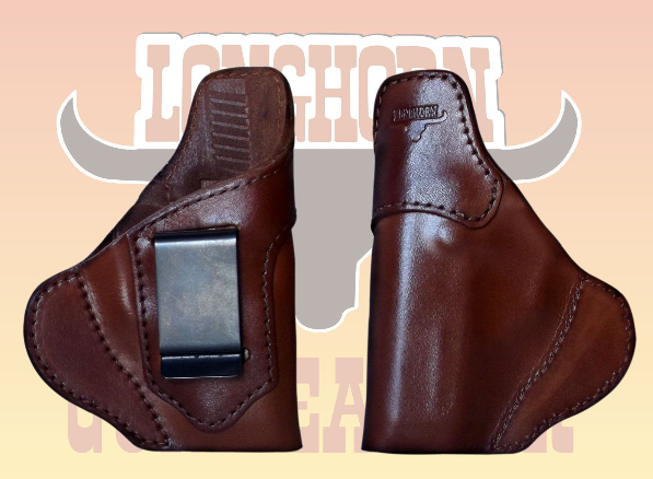 IWB Seecamp Longhorn Premium US Leather Holster