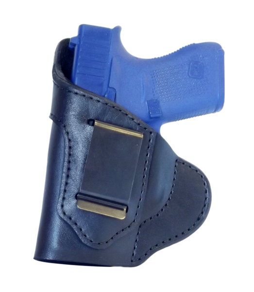 Glock 43 IWB Holster - The Best Leather IWB Holster for CCW - Risk Free Guarantee