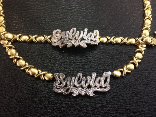 Bracelet chain gold plated