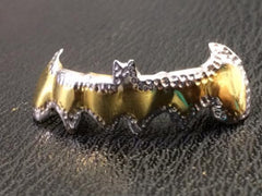 14k Gold Overlay Gold Cap Removable Teeth