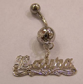 Name Belly Ring Myfancyboutique