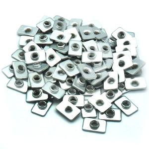 M5 Slim Tee Nuts - 100 Pack