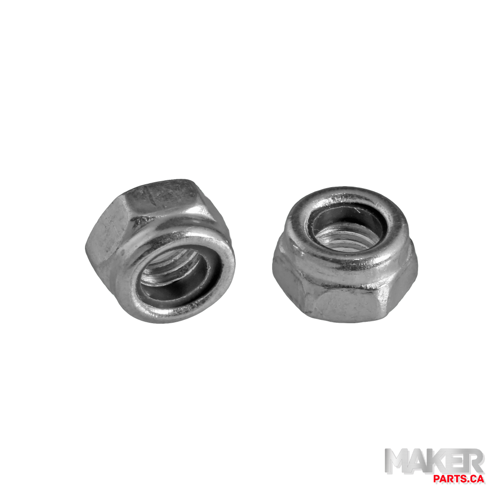 M5 Nylon Insert Hex Locknut