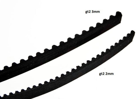 GT3 Belt - 6mm - Open Ended - Cut to Length - 1ft