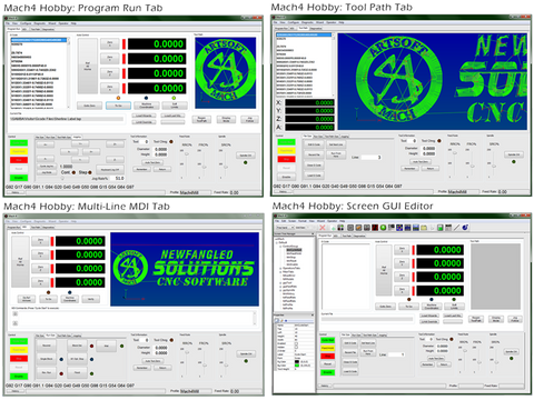 Mach4 -Hobby- CNC Control Software