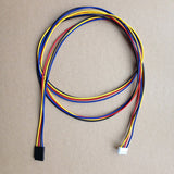 Stepper Motor Cable - 4 Pin - Black Dupont