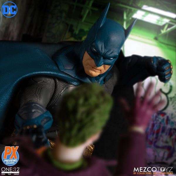 Mezco One:12 Collective Batman Supreme Knight Blue PX Action Figure, DC Comics- Have a Blast Toys & Games