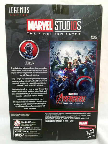 Marvel Legends Ultron The First Ten Years Avengers Action Figure, Marvel- Have a Blast Toys & Games