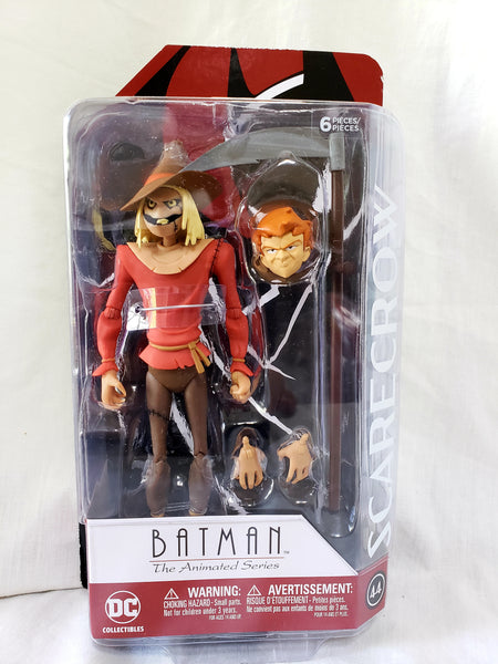 DC Collectibles Batman The Animated Series Scarecrow Action Figure, DC Comics- Have a Blast Toys & Games