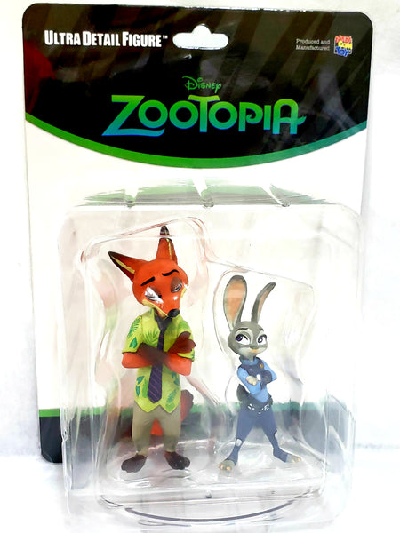 Medicom Toy UDF Disney Series Zootopia Judy Hopps and Nick Wilde Figure, Popular Characters- Have a Blast Toys & Games