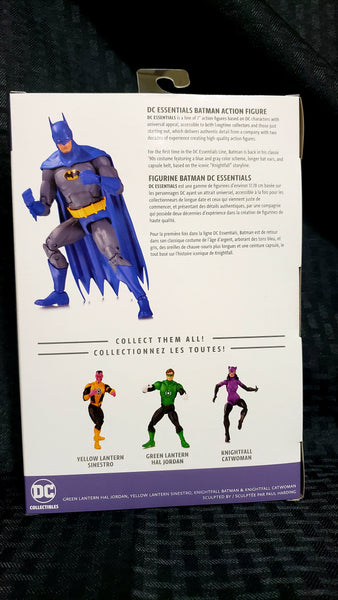 DC Essentials Knightfall Batman DC Comics Action Figure, DC Comics- Have a Blast Toys & Games