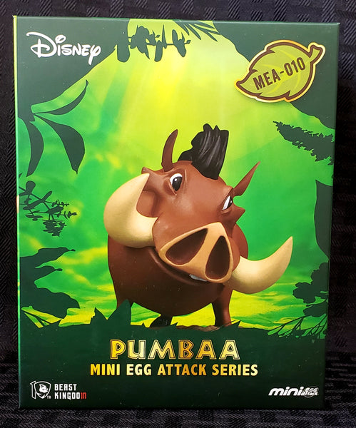 Beast Kingdom Disney's Best Friends Pumbaa Mini Egg Attack Figure, Popular Characters- Have a Blast Toys & Games