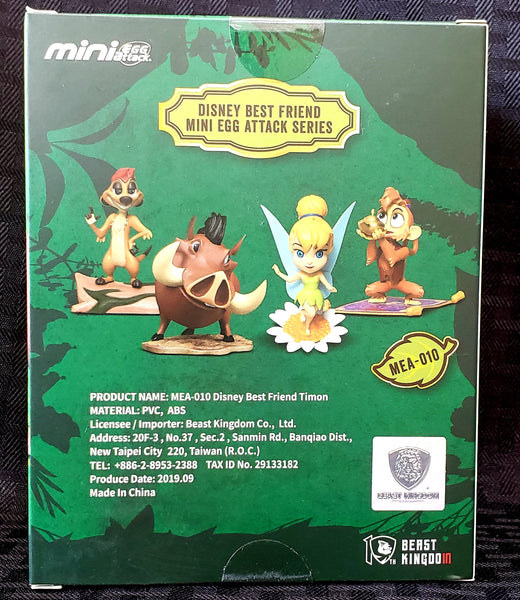 Beast Kingdom Disney's Best Friends Tinker Bell Mini Egg Attack Figure, Popular Characters- Have a Blast Toys & Games