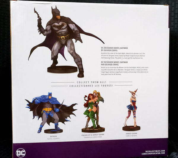 DC Designer Series Batman by Olivier Coipel Statue, DC Comics- Have a Blast Toys & Games