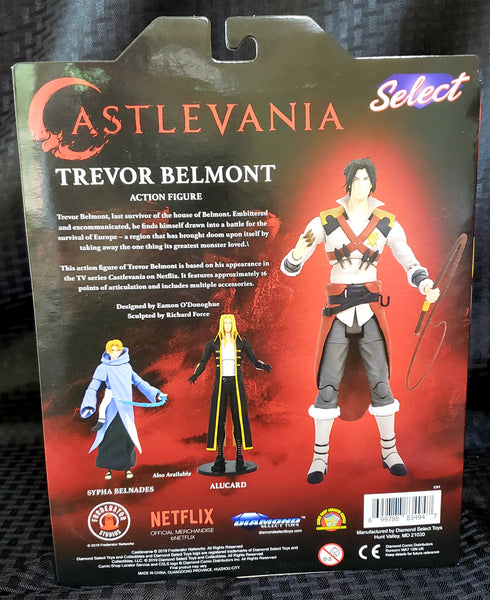 Diamond Select Castlevania Trevor Belmont Action Figure, Popular Characters- Have a Blast Toys & Games