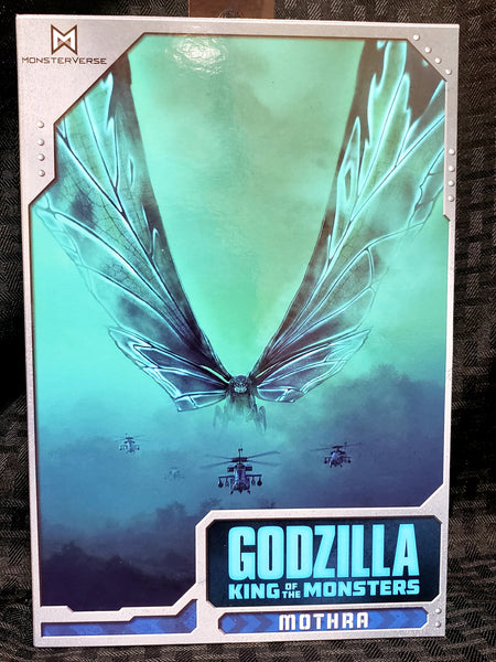 NECA Godzilla King of the Monsters Mothra Poster Version 7-Inch Action Figure