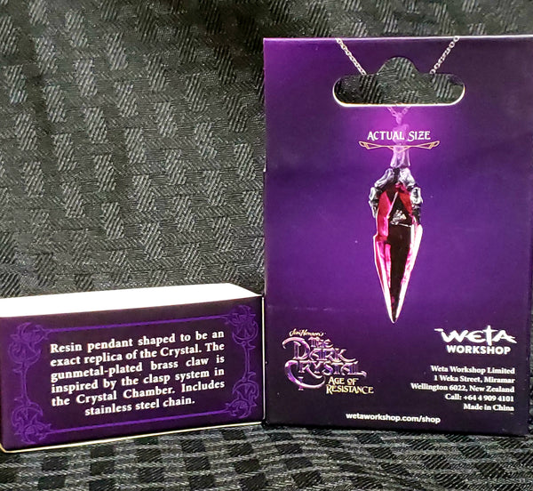 Weta Dark Crystal Age of Resistance Necklace Replica
