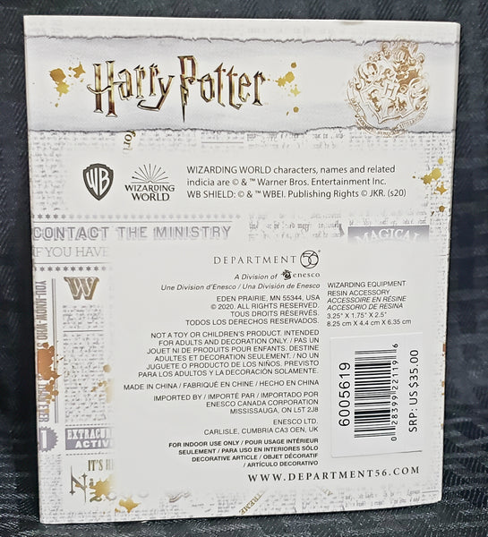 Department 56 Harry Potter Village Wizarding Equipment Figurine