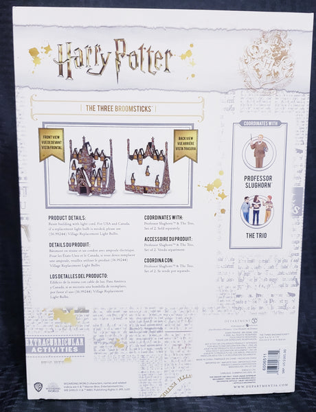 Department 56 Harry Potter Village The Three Broomsticks