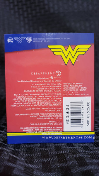 Department 56 Hot Properties Village Wonder Woman DC Comics Figurine