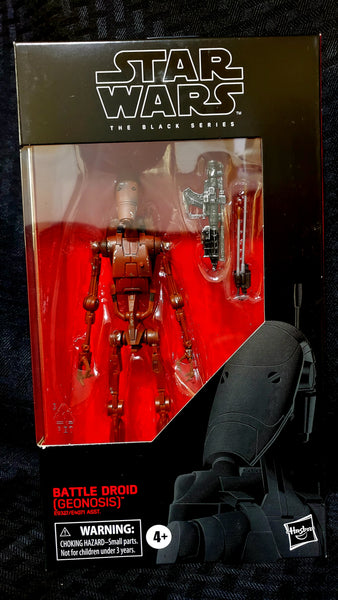 Star Wars The Black Series Battle Droid Geonosis 6-Inch Action Figure