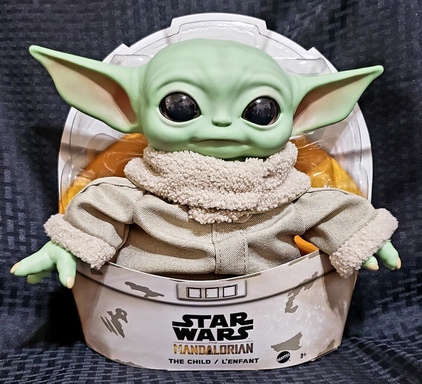Star Wars The Mandalorian The Child (Baby Yoda) 11-Inch Mattel Plush