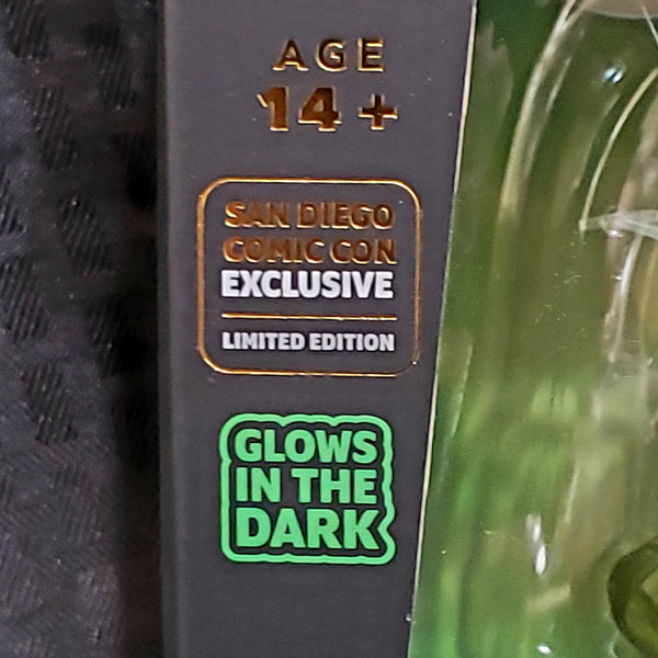 Weta Mini Epics Ghostbusters Slimer Glow in the Dark SDCC Figure Damaged Box