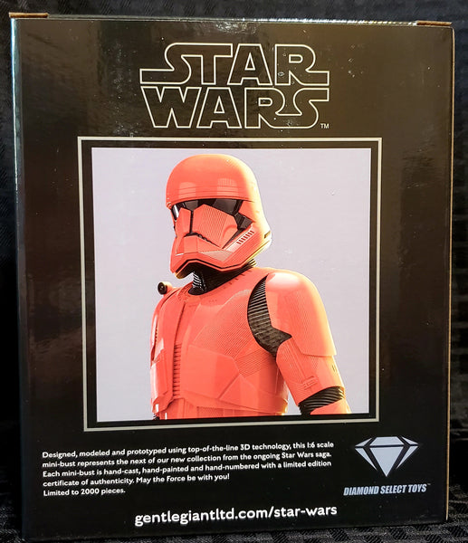 Gentle Giant Star Wars The Rise of Skywalker Sith Trooper 1/6 Scale Bust