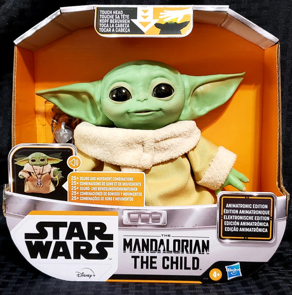 Star Wars The Mandalorian The Child (Baby Yoda) Animatronic Figure