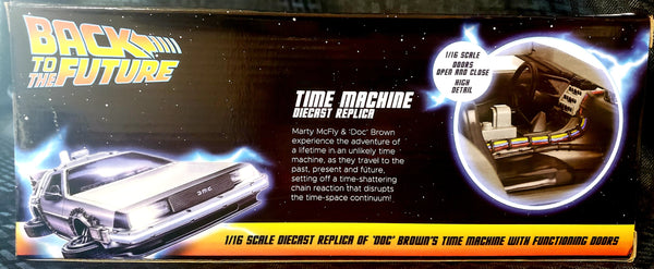 Neca Back to the Future Time Machine 1/16 Scale Diecast Delorean
